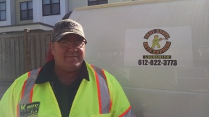 Fast Eddy with His Locksmith Truck